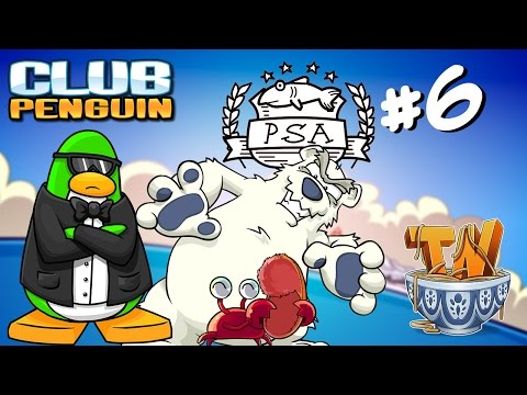 Club Penguin : Questions For A Crab - PSA Mission #6