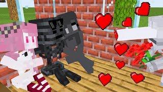 Monster School : VALENTINES DAY 2 CHALLENGE - Minecraft Animation