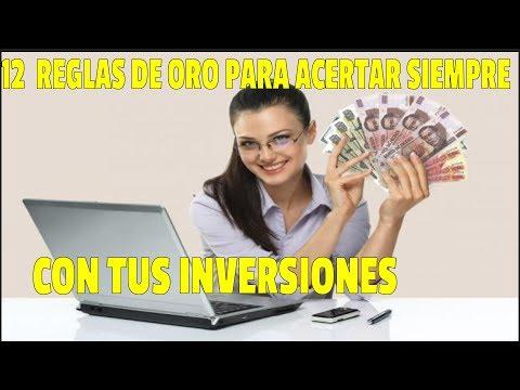 📈👌 LAS 12 REGLAS DE ORO PARA ACERTAR SIEMPRE CON TUS INVERSIONES