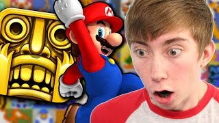SUPER MARIO ENDLESS RUNNER - NES Remix - Part 2 (Wii U Gameplay Video)