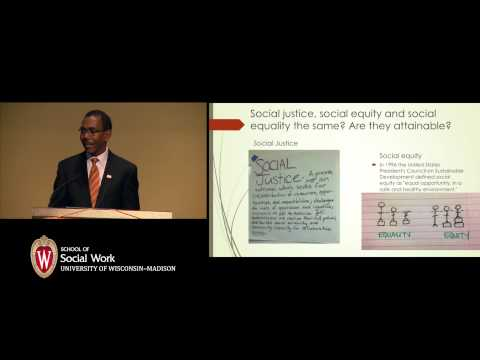 The Tip of the Iceberg: Social Work, Social Justice and Social Action - Darrell Wheeler, Ph.D.