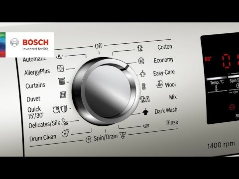 Bosch Serie | 6 Washing Machine Review And Demo