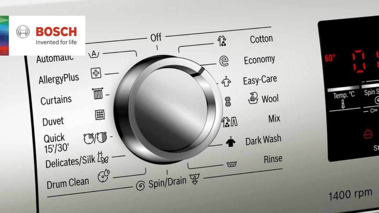 Bosch Serie 6 Washing Machine Review And Demo Youtube