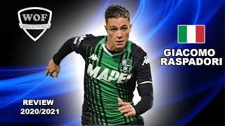 Here is why everyone want to sign giacomo raspadori 2021   crazy goals & skills (hd)