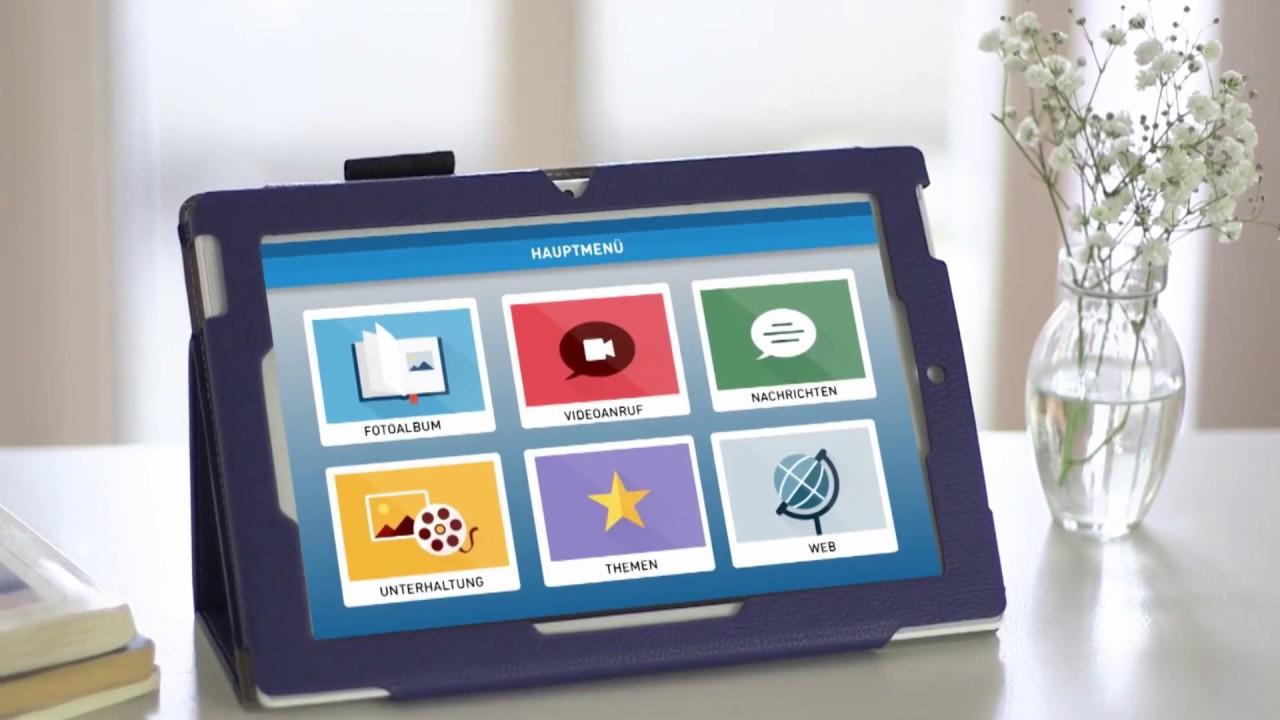 video Media4care – Senioren Tablet