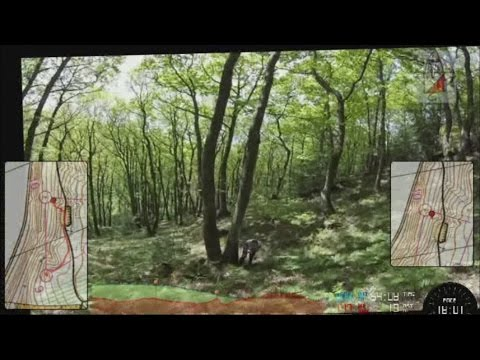 Headcam Orienteering - SinS - Brampton Bryan 23 May 15 - Part 1