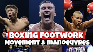 Boxing Footwork || Movement & Manoeuvres