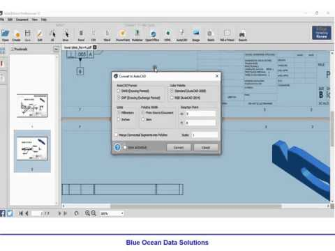pdf to autocad drawing converter