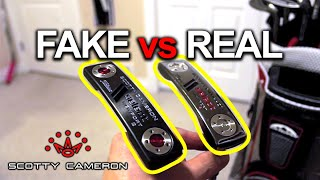 Fake VS Real Scotty Cameron Putter