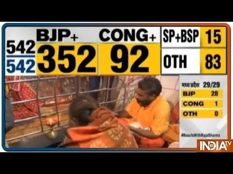 Smriti Irani offers prayers after winning Amethi seat against Rahul Gandhi
