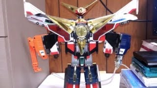 Brave express might gaine of Great Might Gaine!! マイトカイザーの...