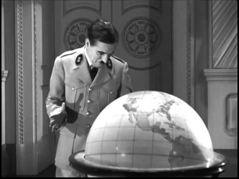 The Great Dictator - complete globe scene
