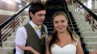 Видео отзыв свадьба 5 сентября 2013 ,ведущий жжет Плахтий Владимир