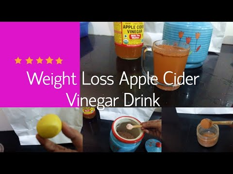 weight-loss-drink- -apple-cider-vinegar- -get-rid-of-5kgs-a-month- -before-breakfast-drink