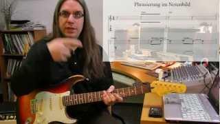 Phrasierung - Slides, Hammerings, Bendings, Triller, Vibrato und Co.