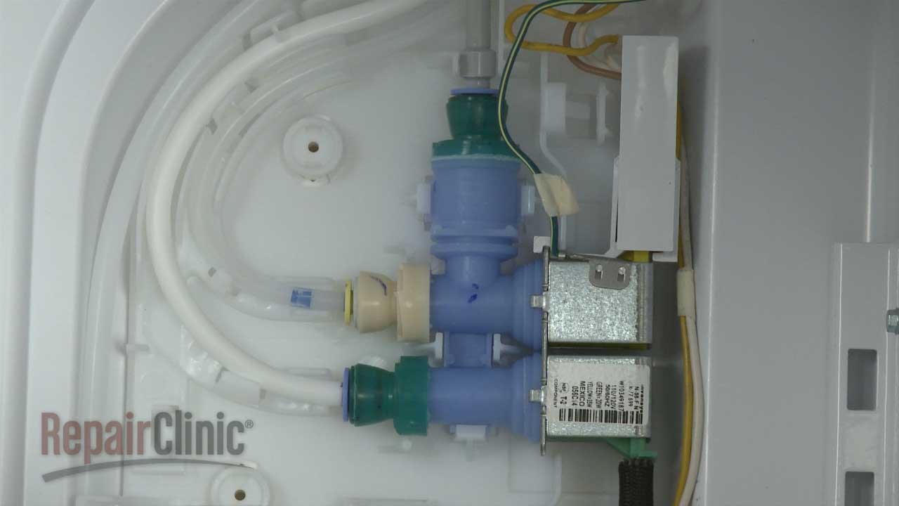 hight resolution of whirlpool refrigerator water inlet valve w10349187