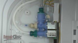 Washing Machine Repair Replacing The Dual Water Inlet