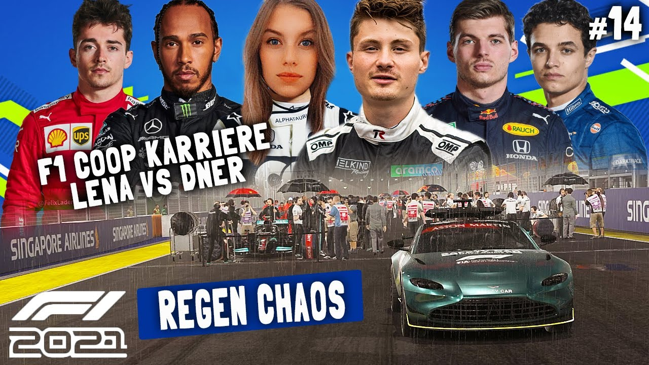 Download REGEN AM RENNENDE ODER NICHT?? | F1 2021 Koop Karriere #14 | Lena & Dner