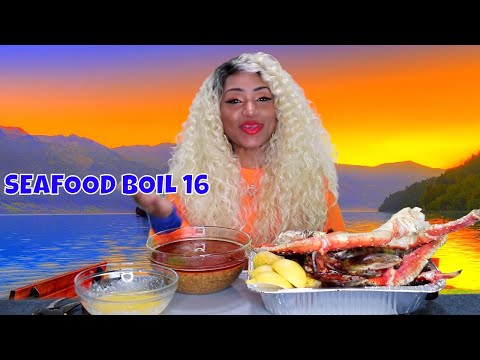 Seafood Boil 16 King Crab Legs, Mussels, Lobster ⚠ Smackin, Slurping, etc.