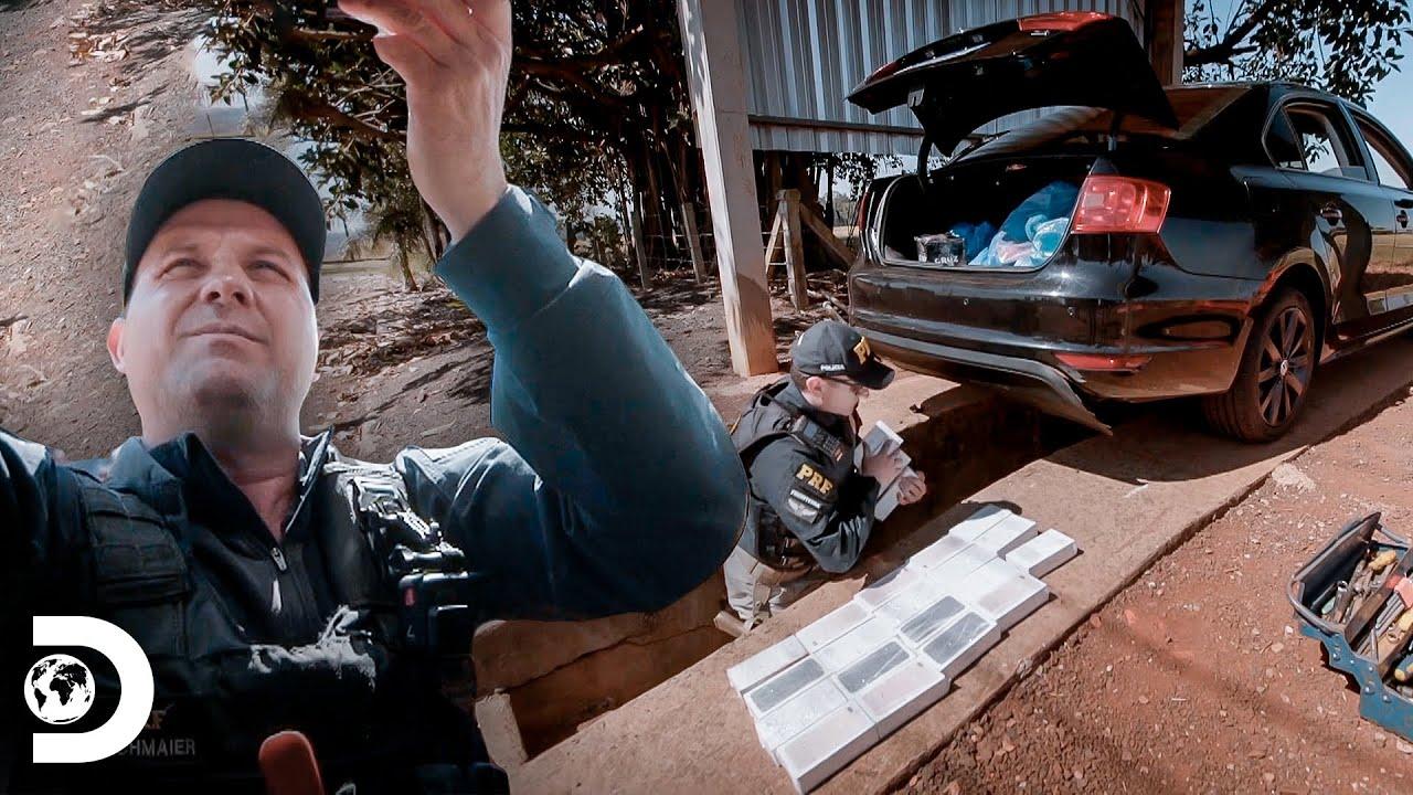 Confiscando quase 50 celulares irregulares | Operação Fronteira America Latina | Discovery Brasil