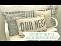 Vintage Cottage Style| Master Bedroom Decor| 2017