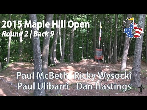 The Disc Golf Guy - Vlog #300 - 2015 Maple Hill Open - McBeth, Wysocki, Ulibarri, Hastings R2B9