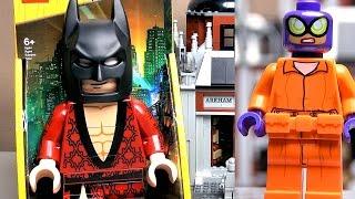 lEGO Batman все минифгурки набора Lego 70912 Клиника Аркхэм Обзор
