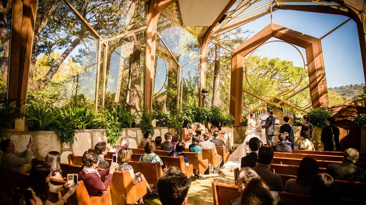 Wayfarers Chapel Wedding.Wayfarers Chapel Wedding Rancho Palos Verdes California