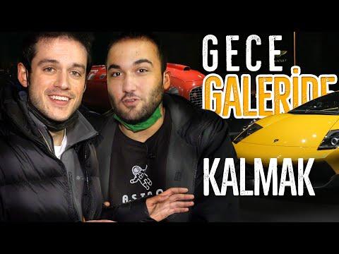 GECE GİZLİCE ARABA GALERİSİNDE KALMAK! ft. @MuratAbiGF