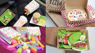 Pizza, Gummy Candy, Avocado Salad : Mini Food Brooches + Jewelry : June/July Mandala Box