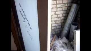 Врезка замка в межкомнатную дверь со стеклом Триплекс(Выкладываю краткую видеоинструкцию по врезанию замка в межкомнатную дверь на примере дверного полотна..., 2015-04-02T00:36:47.000Z)