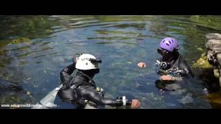 Cave diving Mexico - ADM school