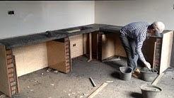 Amazing Smart Construction Techniques - Building Concrete Kitchen Cooking Table