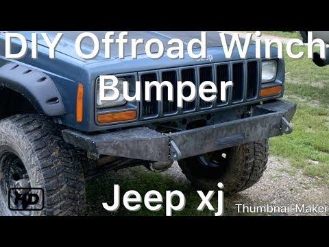 DIY Offroad Bumper Build-Jeep Cherokee XJ
