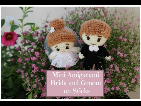 Bride Diane, Amigurumi Wedding Pattern | 360x480