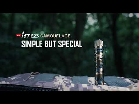 Senter Olight i5T EOS Camouflage 300 Lumens Limited Edition Flashlight LED