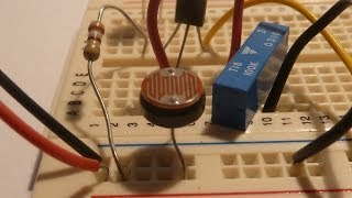 How To Make An LDR Circuit (Light Detector)