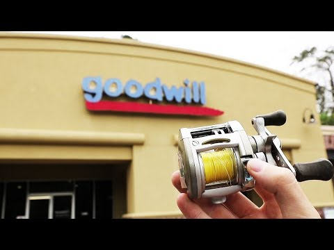 Goodwill Fishing Challenge! (Crazy Find)