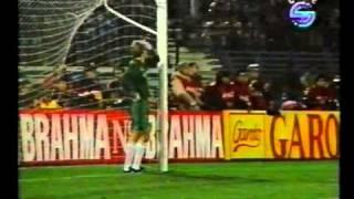 Argentina v Brazil in Copa America 1991