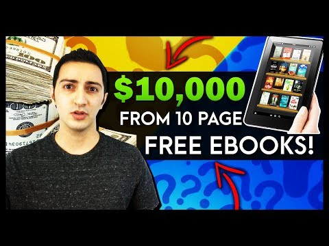 How I Made $10,000 By Writing a 10 Page Free Ebook For My Sales Funnel