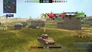 World of tanks How to play and win Matilda