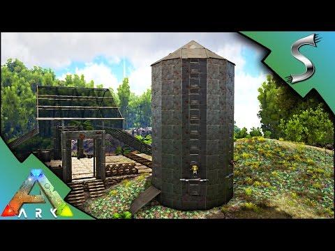 THE POOP SILO! PHIOMIA POOP FARM - Ark: Survival Evolved [S3E106]