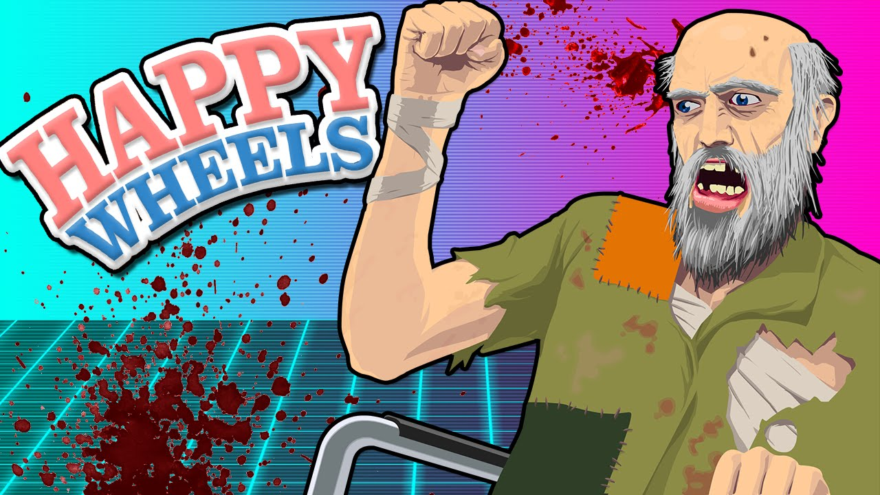 Happy wheels dinosaurs drugs and destruction - Let s play happy wheels ...