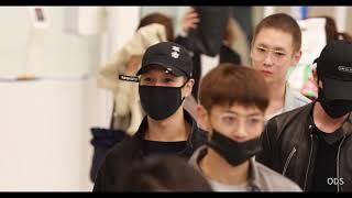 180408 샤이니+동방신기-윤호-인천공항 입국