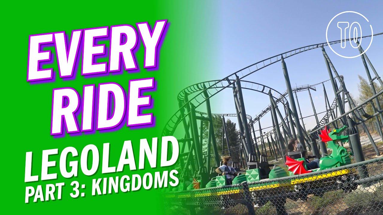 LEGOLAND Themepark PART 3: KINGDOMS (POV)