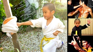 Ryusei Imai - Mini BRUCE LEE 6yr old Martial Arts Master! ☯Kung Fu Training Superkid!