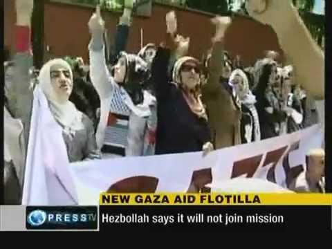 Israel threatens to kill Lebanese Women on Gaza aid ship