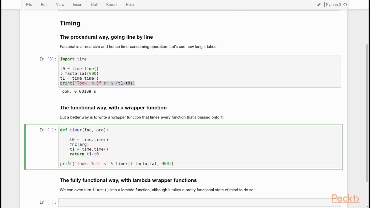 Functional Programming in Python: Passing Function as an Argument to  Another Function| packtpub com