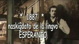 Omaĝe al Zamenhof en esperanto