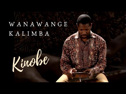 Kinobe kalimba performance